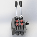 1 spool and 2 port hydraulic control valve for TUMOSAN